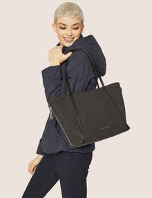 ARMANI EXCHANGE CLASSIC SIDE-ZIP TOTE Tote bag [*** pickupInStoreShipping_info ***] r