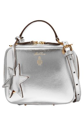 MARK CROSS Metallic leather shoulder bag