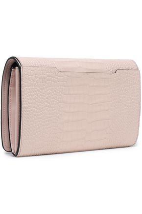 RAG & BONE Croc-effect leather shoulder bag