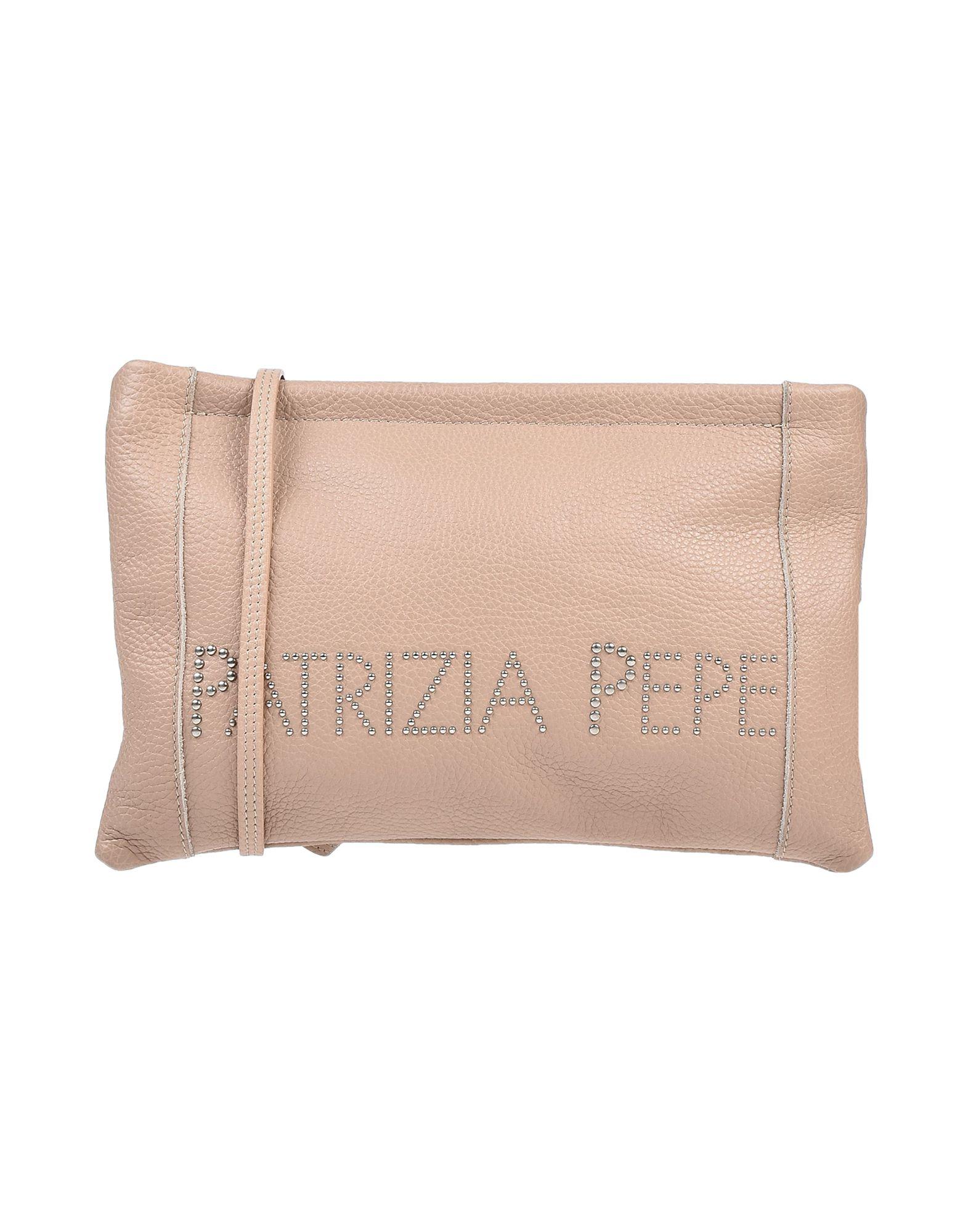 《送料無料》PATRIZIA PEPE レディース ハンドバッグ ライトピンク 革
