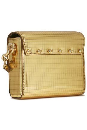 DOLCE & GABBANA Mirrored leather shoulder bag