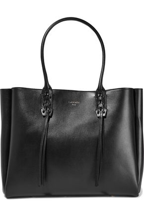 LANVIN Whipstitched leather tote