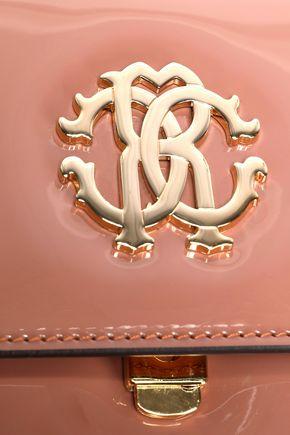 ROBERTO CAVALLI Patent-leather shoulder bag
