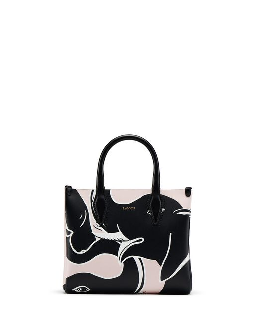 "NANO ELEPHANT-PRINT ""JOURNEE"" BAG - Lanvin"