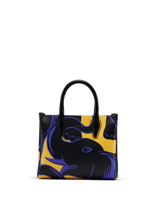 "NANO ELEPHANT-PRINT ""JOURNÉE"" BAG - Lanvin"