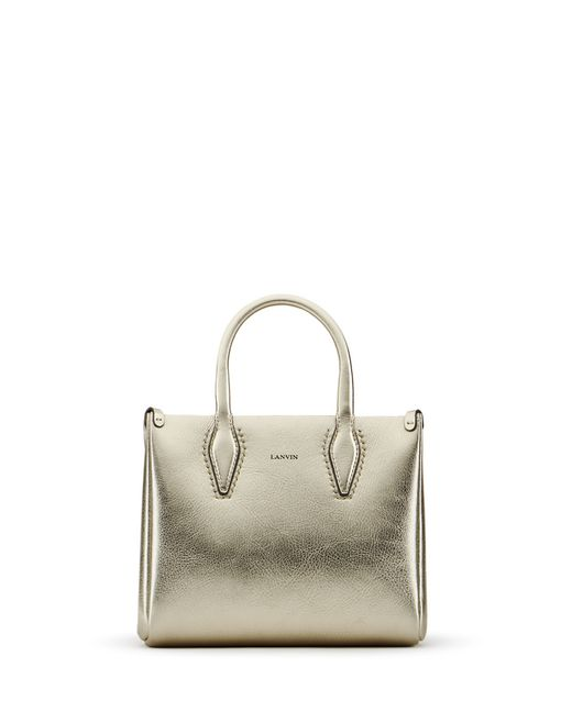 "NANO PALE GOLD ""JOURNÉE"" BAG  - Lanvin"