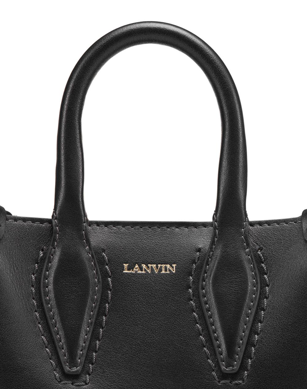"MICRO BLACK ""JOURNÉE"" BAG - Lanvin"