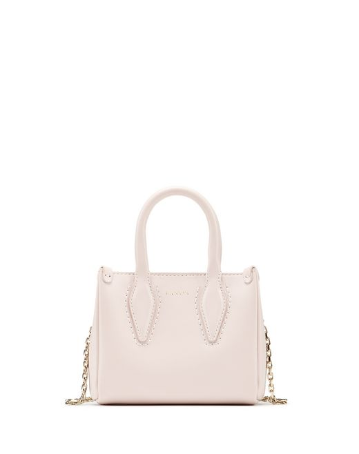 "MICRO LIGHT PINK ""JOURNÉE"" BAG - Lanvin"