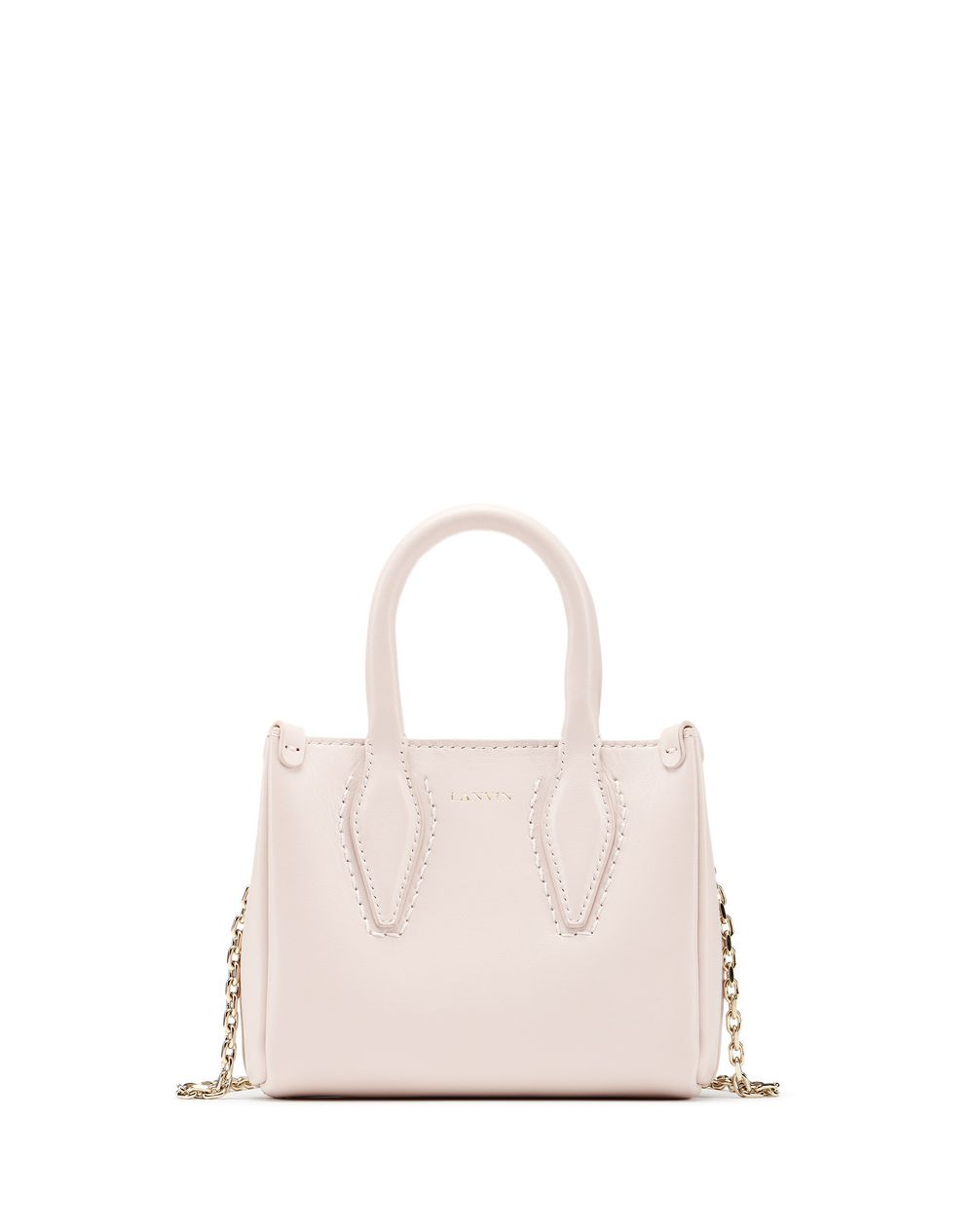 "MICRO LIGHT PINK ""JOURNEE"" BAG - Lanvin"