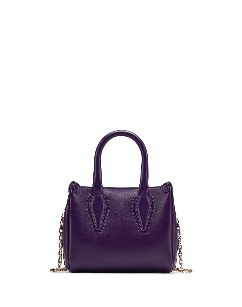 "MICRO DARK PURPLE ""JOURNEE"" BAG - Lanvin"