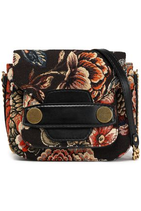 STELLA McCARTNEY Jacquard shoulder bag