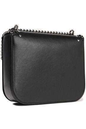 7412c9d9fd STELLA McCARTNEY Falabella embroidered faux leather shoulder bag