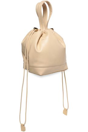 PACO RABANNE Faux leather bucket bag