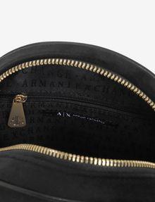 ARMANI EXCHANGE ROUND STUDDED LOGO CROSSBODY Crossbody bag [*** pickupInStoreShipping_info ***] e