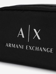 ARMANI EXCHANGE CLASSIC LOGO DOPP KIT Travel bag [*** pickupInStoreShippingNotGuaranteed_info ***] b