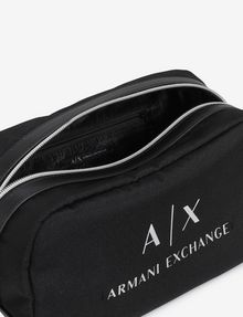 ARMANI EXCHANGE CLASSIC LOGO DOPP KIT Travel bag [*** pickupInStoreShippingNotGuaranteed_info ***] e