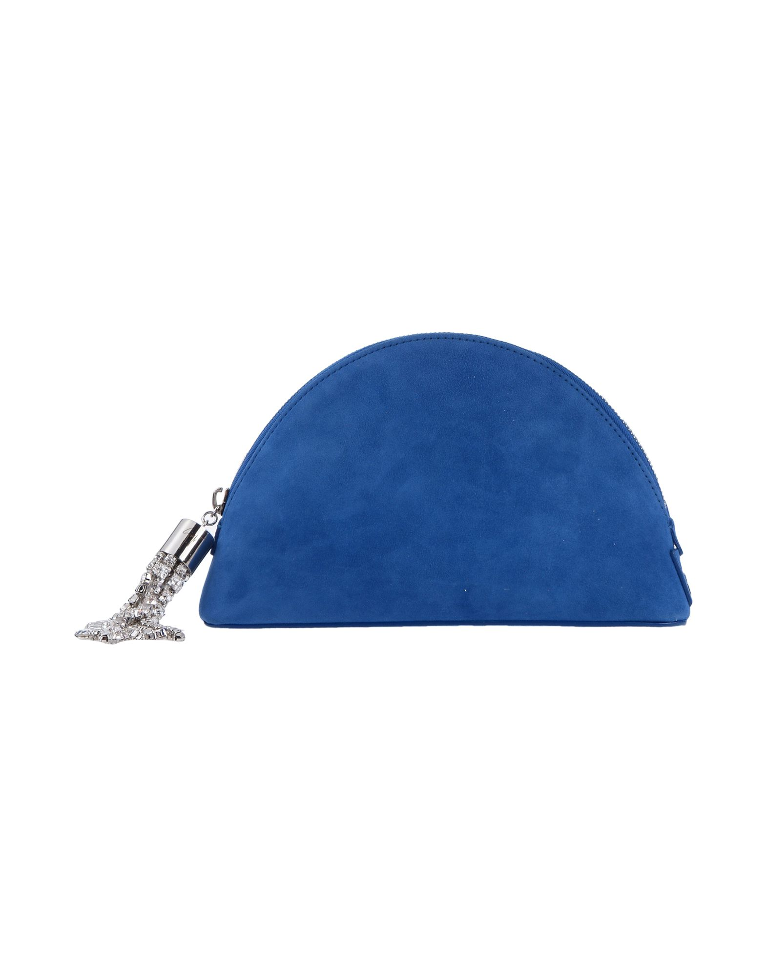 《送料無料》GIUSEPPE ZANOTTI レディース ハンドバッグ ブルー 革