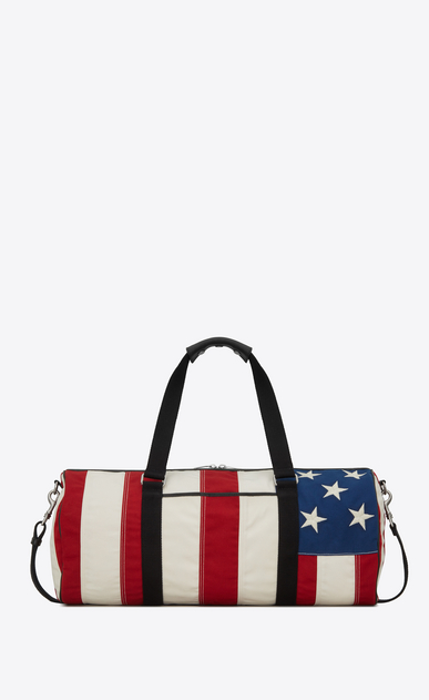 NOE gym bag in American flag canvas
