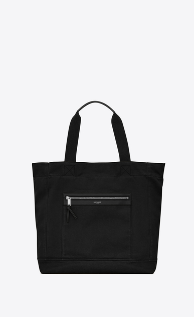 CITY shopping bag in faded gabardine