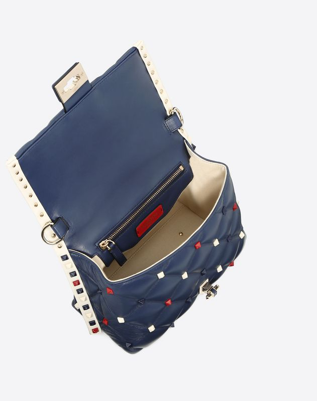 Medium multicolour Candystud top-handle bag
