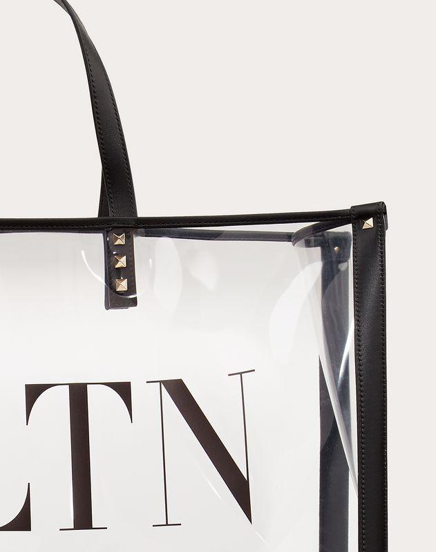 Сумка-шоппер VLTN из плексигласа
