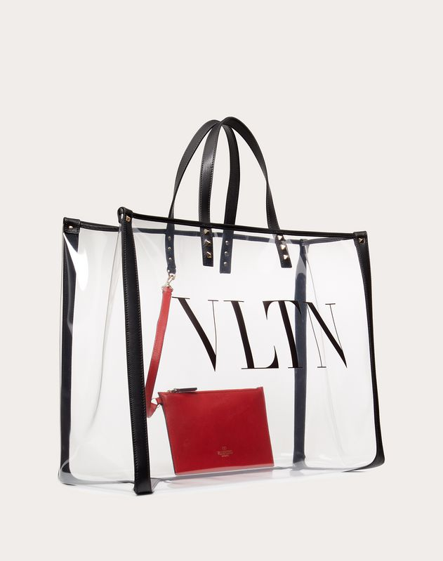 VLTN plexy Shopping bag