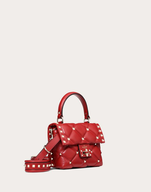 Mini Candystud top-handle bag