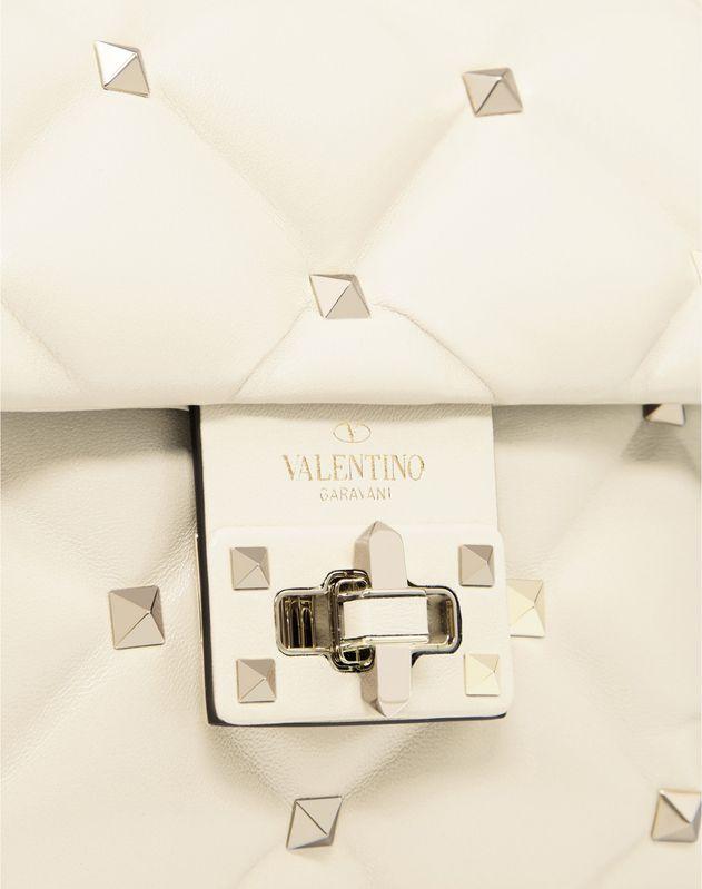 Мини-сумка с короткой ручкой Candystud из кожи наппа