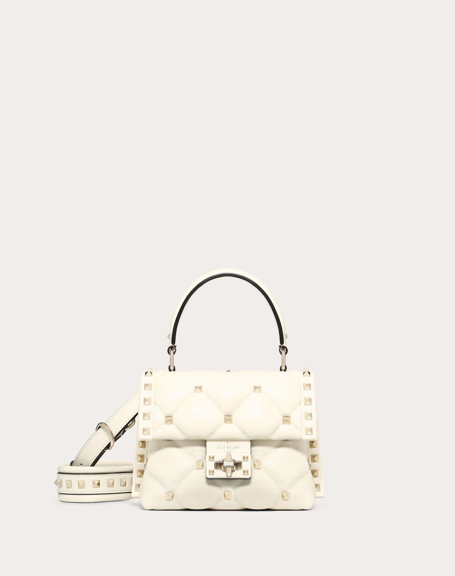 Mini Candystud Nappa Handbag
