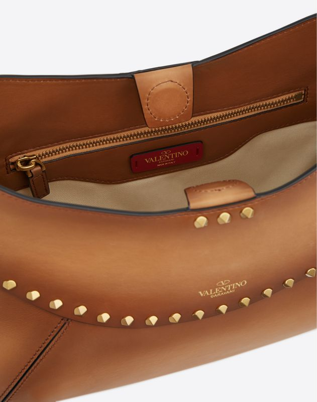 Borsa Media Twinkle Studs in vitello tamponato