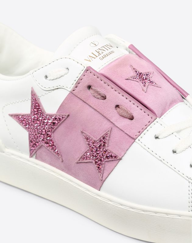 Stars embroidery Open Sneaker