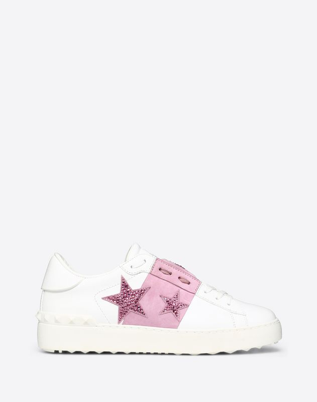 Open Sneaker with Stars