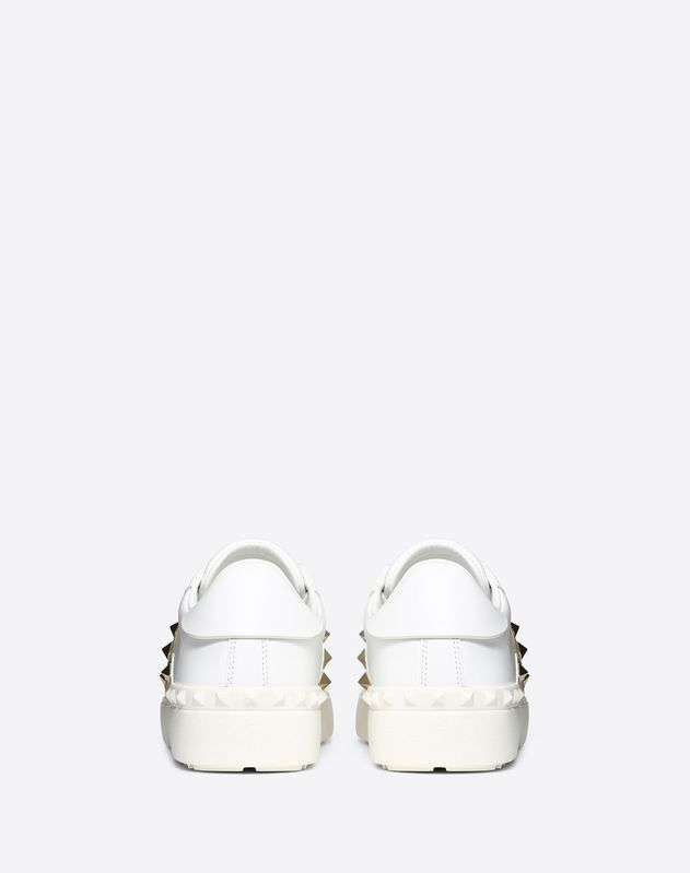 Rockstud Untitled Sneaker with heart