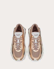 VLTN Metallic Low-Top Bounce Sneaker