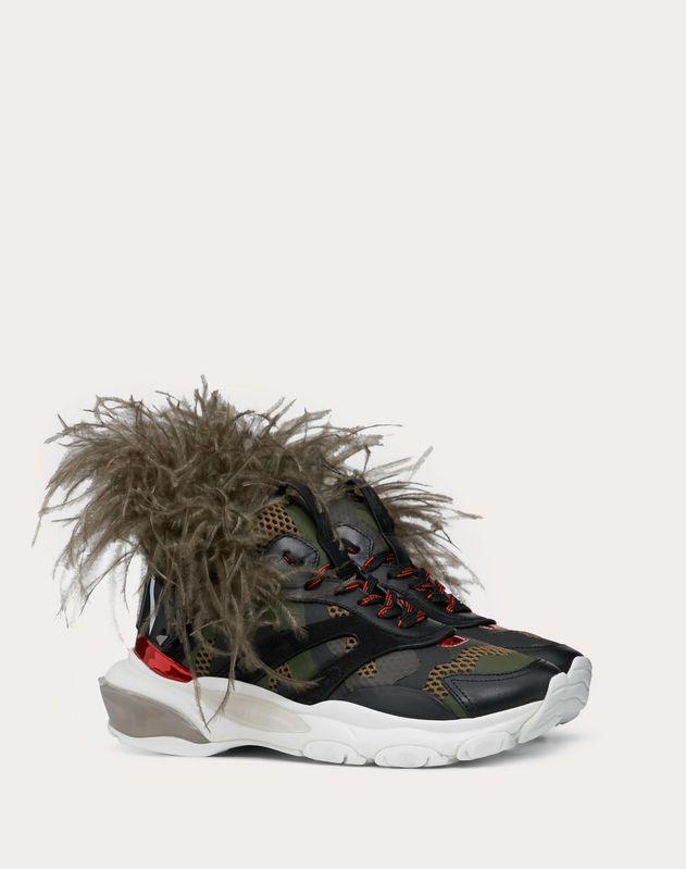 Sneaker Low-Top Bounce con piume