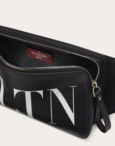 LEATHER VLTN BELT BAG