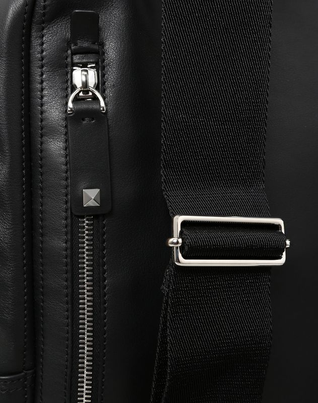 LARGE NAPPA LEATHER VLOGO BACKPACK