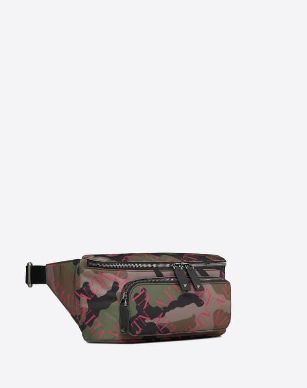 VLTN Grid Camouflage Belt Bag