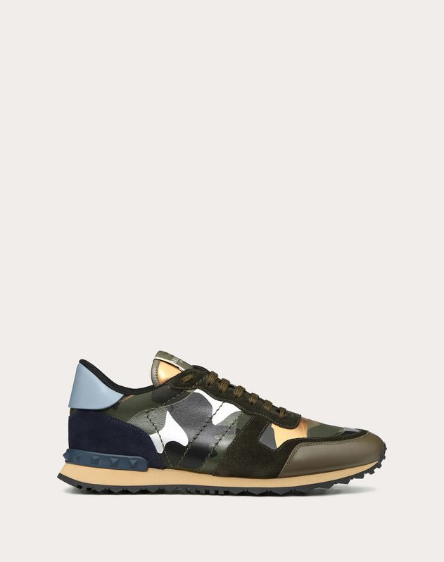 78fbbba090548 Rockrunner Camouflage Sneaker for Man | Valentino Online Boutique