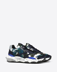 BOUNCE CAMOUFLAGE TRAINER WITH FEATHERS