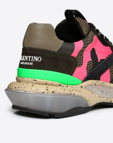 BOUNCE NEON CAMOUFLAGE TRAINER