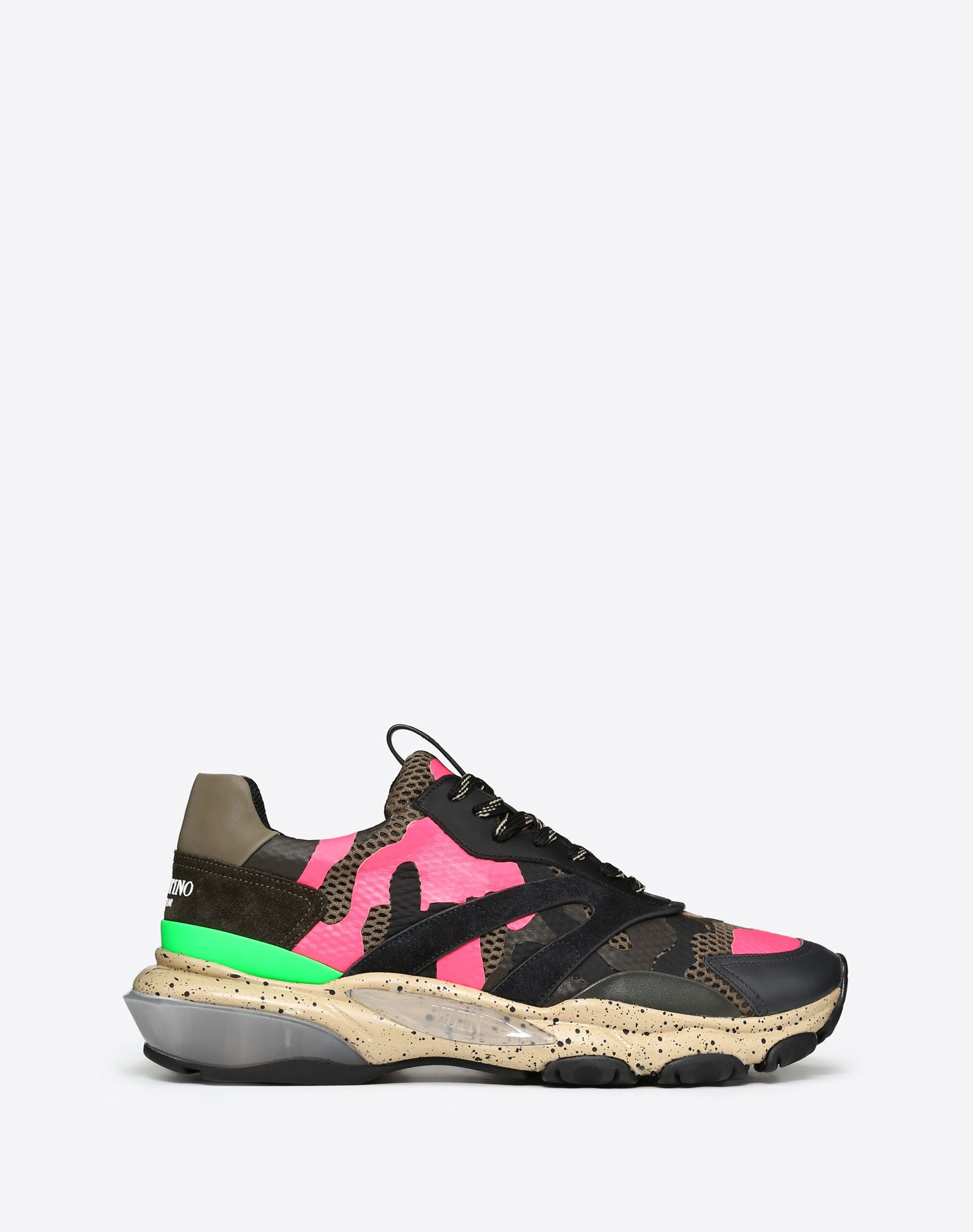 BOUNCE NEON CAMOUFLAGE SNEAKER