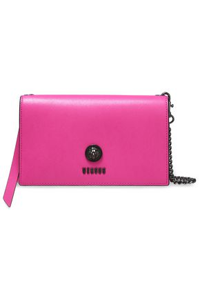 VERSUS VERSACE Textured-leather clutch