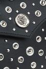 VERSUS VERSACE Studded leather shoulder bag