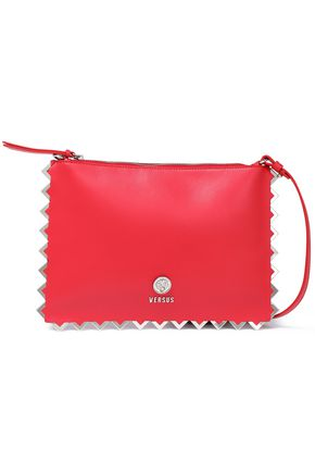 VERSUS VERSACE Embellished leather shoulder bag