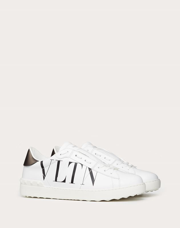 OPEN SNEAKER WITH VLTN LOGO