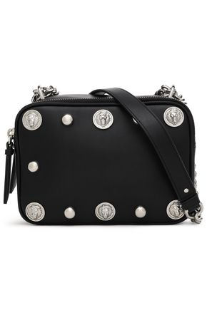 VERSUS VERSACE Studded leather shoulder bag