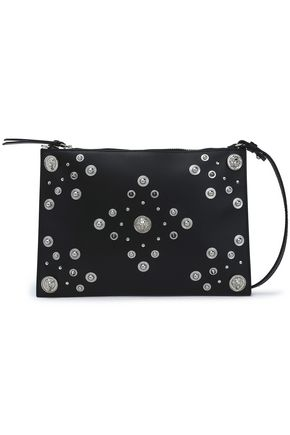 VERSUS VERSACE Studded leather pouch