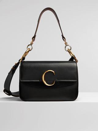 """Small Chloé """"C"""" double carry bag"""