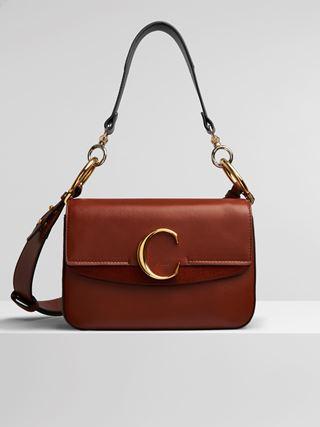 Small Chloé C double carry bag